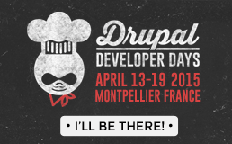 Drupal Developer Days Montpellier 2015 Logo